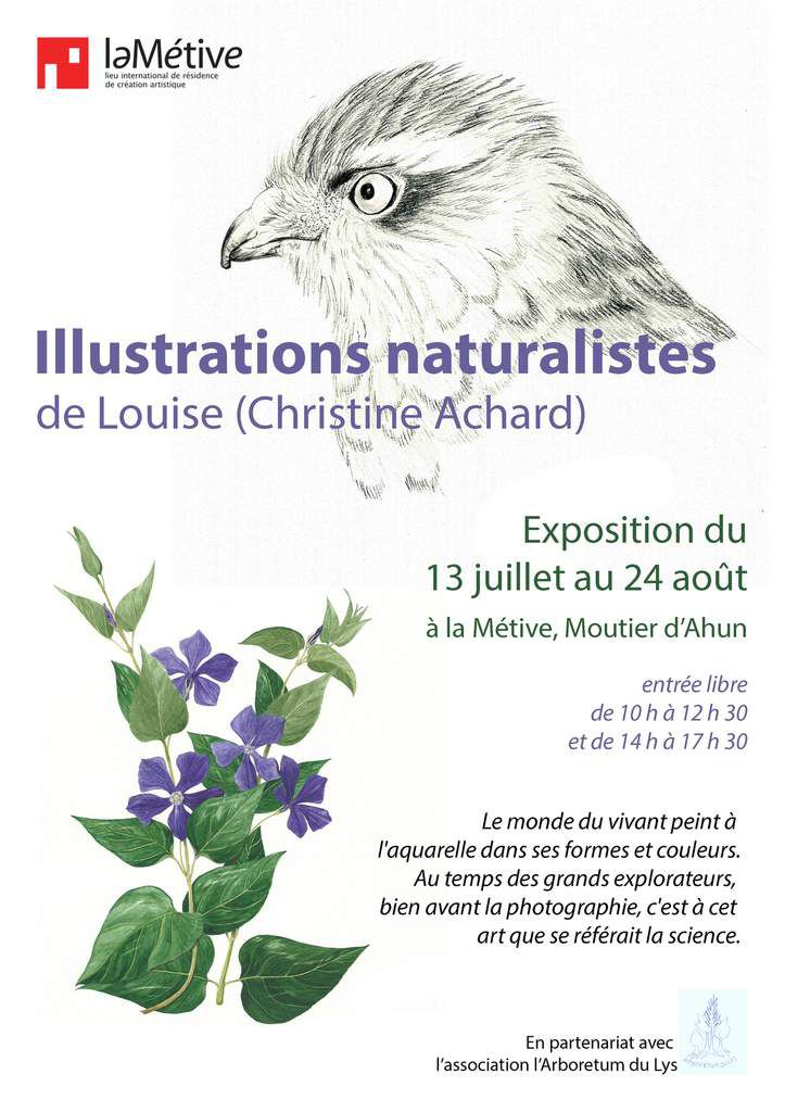 Exposition aquarelle de Louise