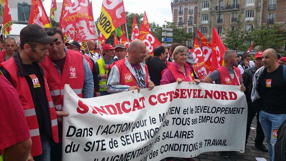 Manifestation à Paris le 14 juin 2016