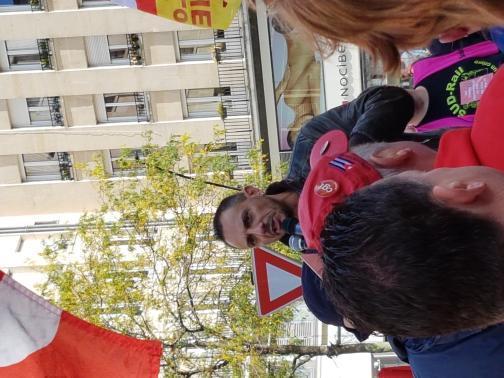 2500 personnes à la manifestation contre la loi travail à Valenciennes le 12 septembre 2017