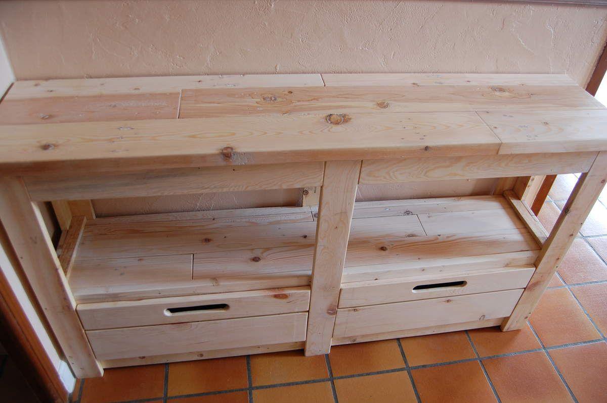 Meubles en bois de palette  MEUBLES EN BOIS DE PALETTE ~ Poids Palette Bois
