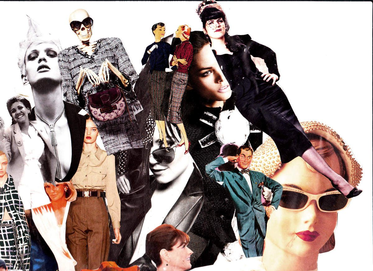 Le Tailleur - The Suit - Moodboard
