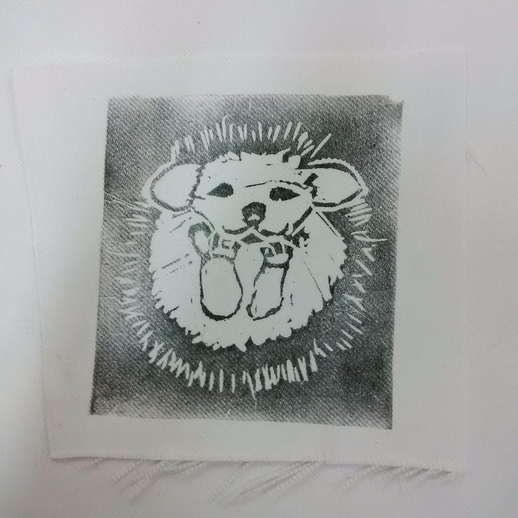 Linogravure - Lino cut