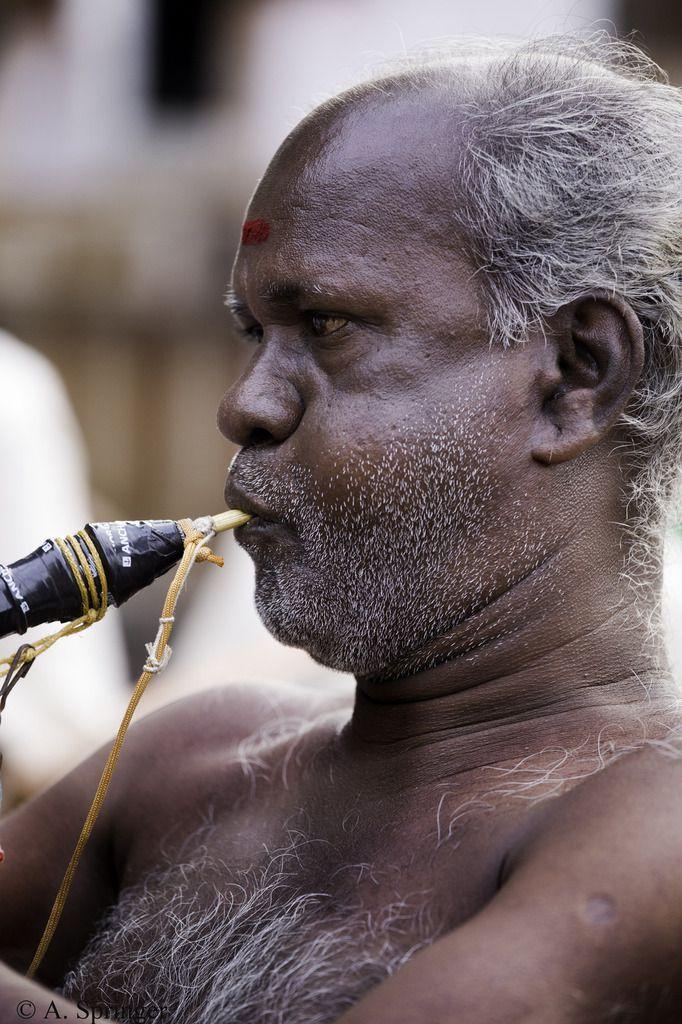 INDE : Le Maitre du Monde est de sortie - Kanchipuram - Temple de Vadaraja