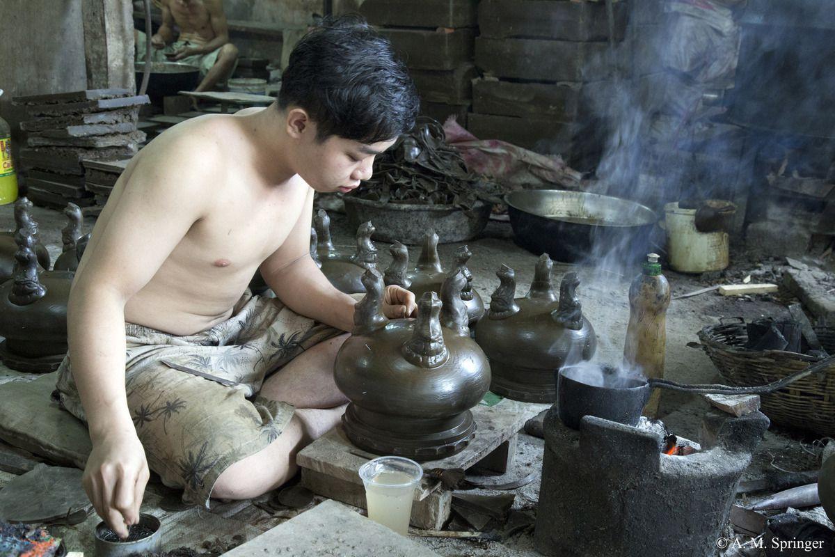 Les fondeurs de Gò Vấp : VIETNAM : SAIGON