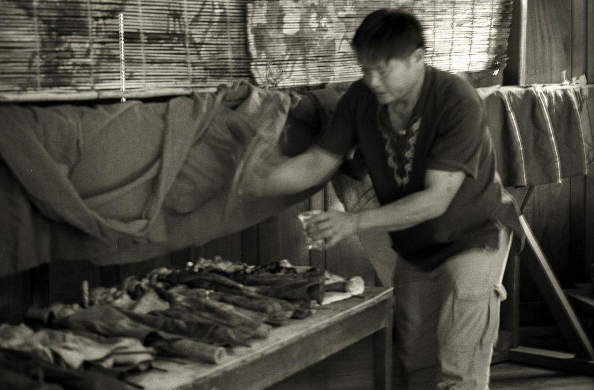 Les maîtres-marionnettistes de Vat Xieng Thong : LAOS - LUANG PRABANG