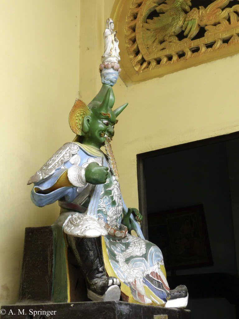 « Papa a fait pagode » : Vietnam - Saigon - La Pagode Pháp Vương