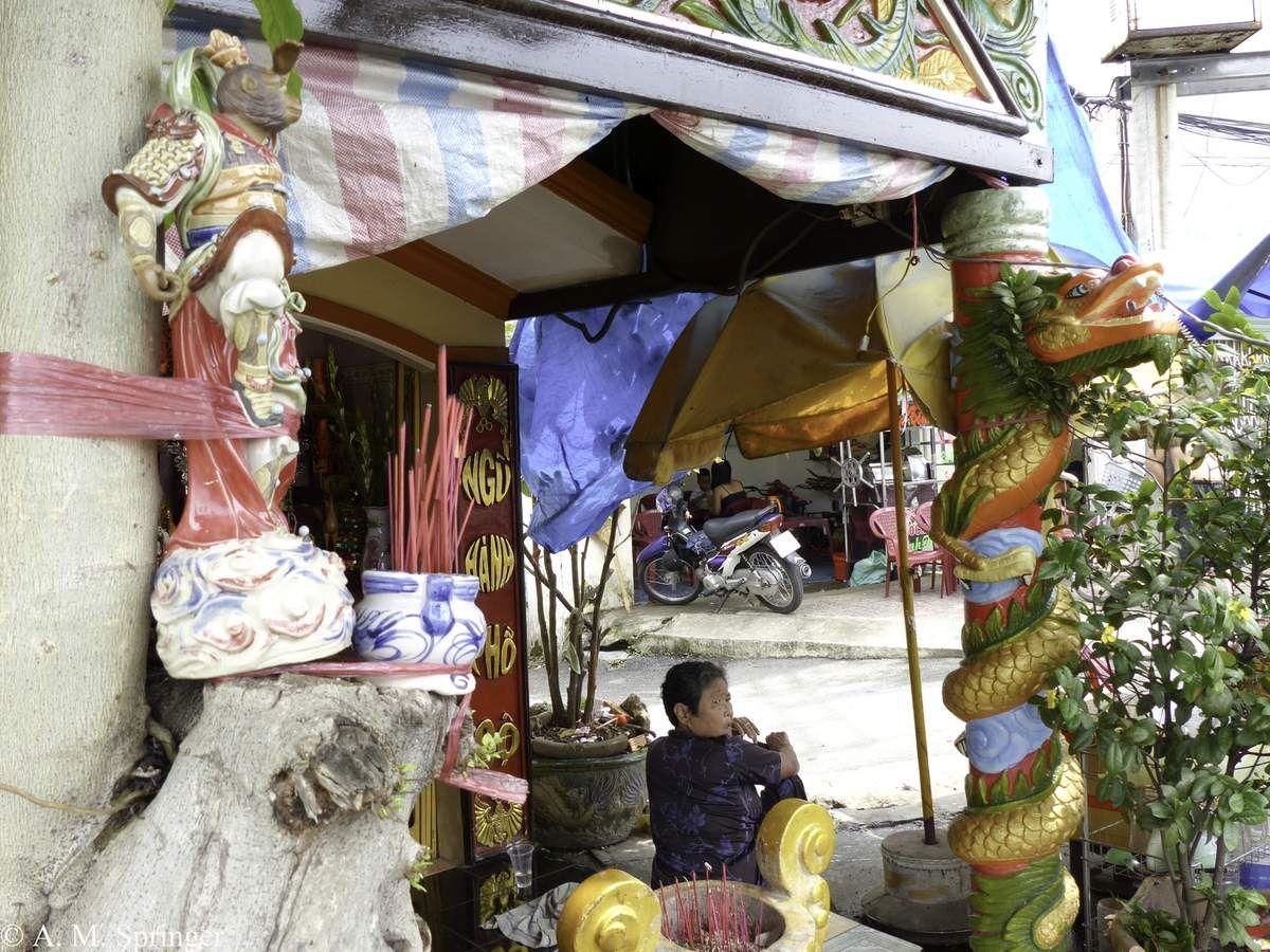 VIETNAM : SAIGON  - La Pagode Pháp Vương ou « Papa a fait pagode ».