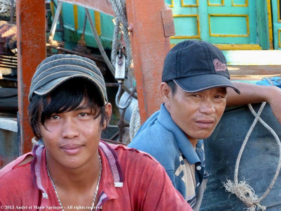 VIETNAM : DELTA - Gò Công - Bienvenue au port (de Vam Lang)