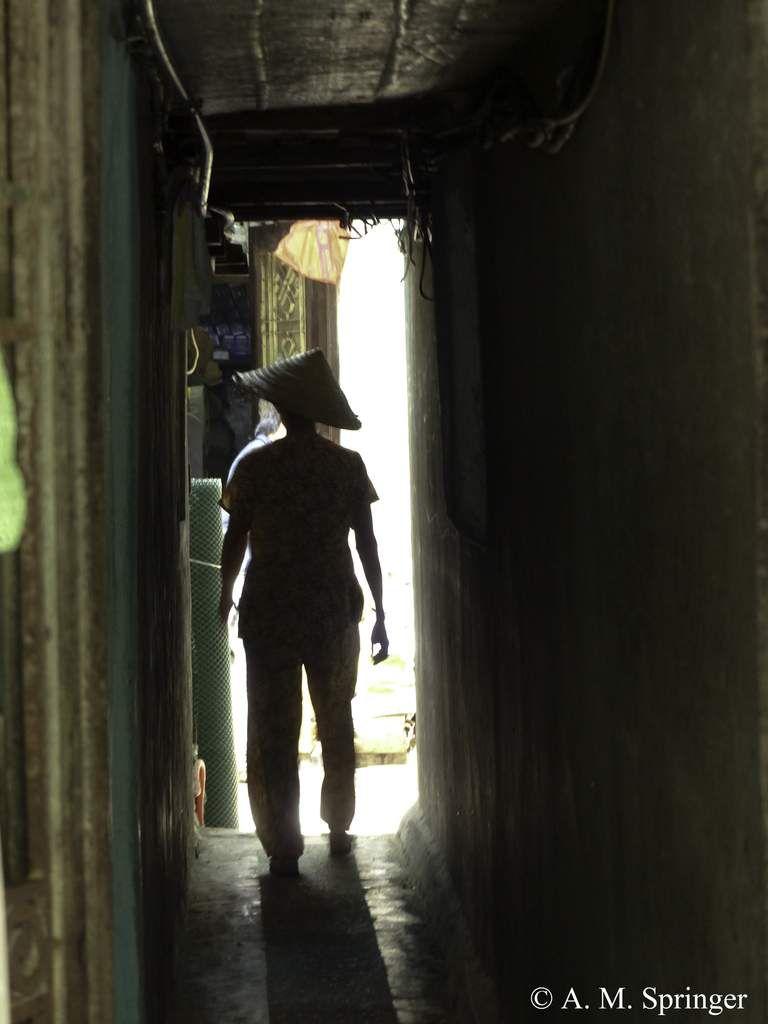 VIETNAM : les couloirs d'Hanoï