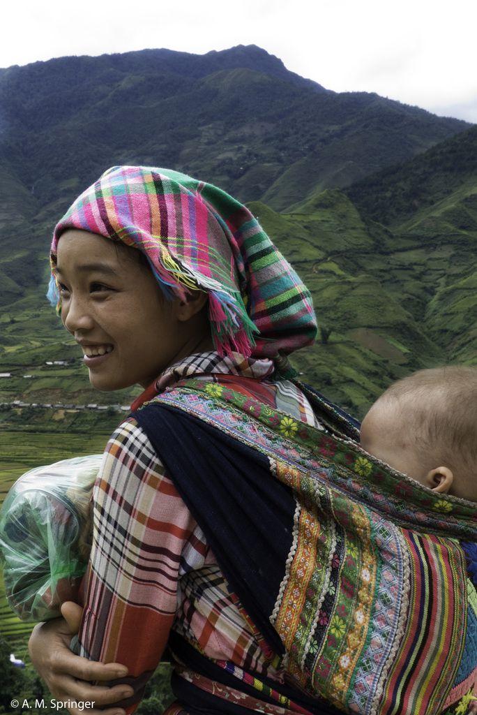 VIETNAM : TAPIS DANS DANS LE CIEL 1 - vallée de Tu Le