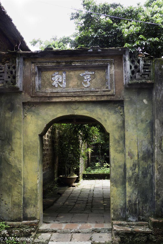VIETNAM : villages autour d'Hanoï 2: Đường Lâm