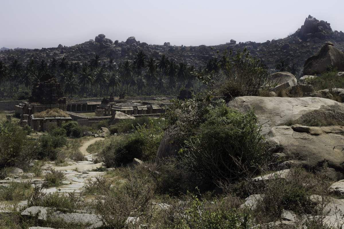 Le temple d'Achyut Raya.