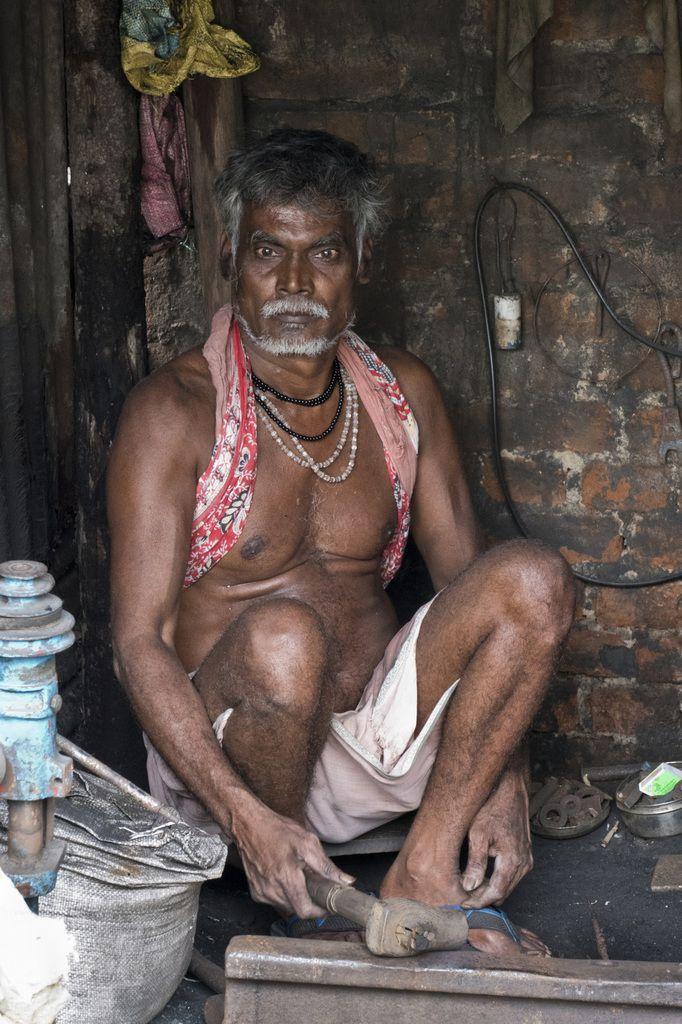 Odisha - Puri - forgeron