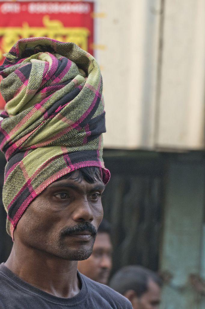 West Bengal - Kolkata - porteur