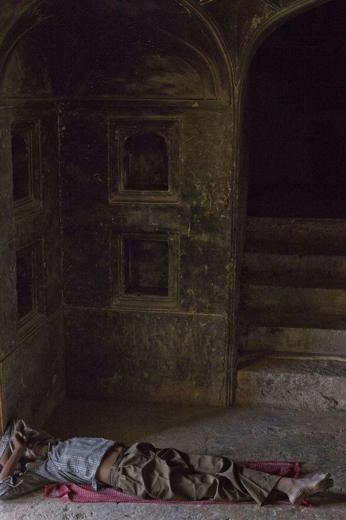 Le chateau de Dracula : Inde - Madhya Pradesh - Datia