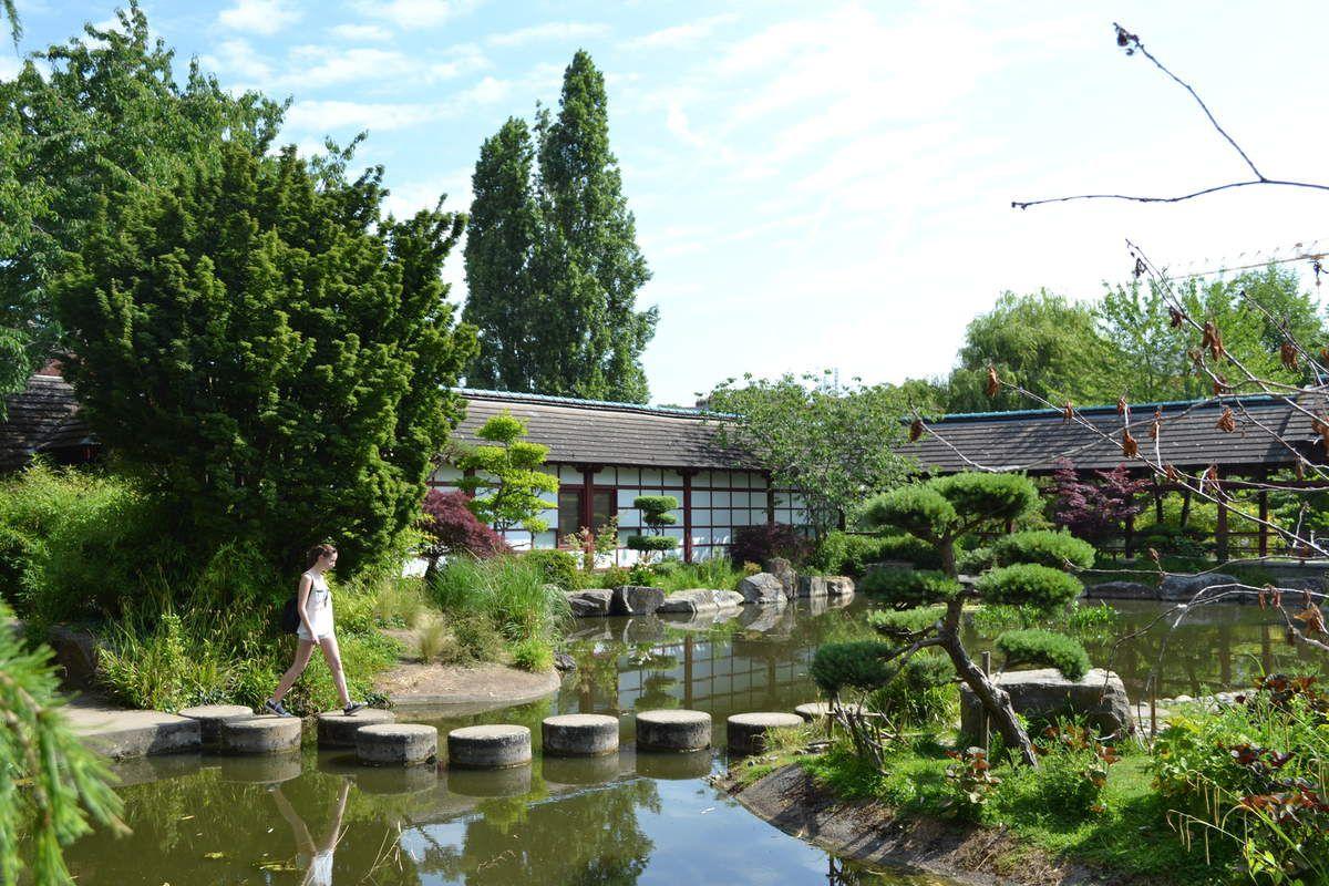 Le Parc Japonais à Nantes