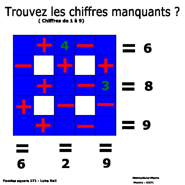 Puzzle square  - Luke Hall