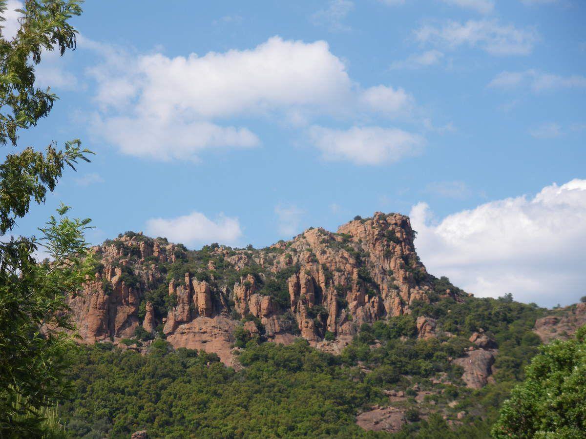 Le Rocher de Roquebrune sur Argens