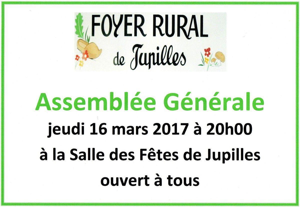 Assemblée Générale du Foyer Rural