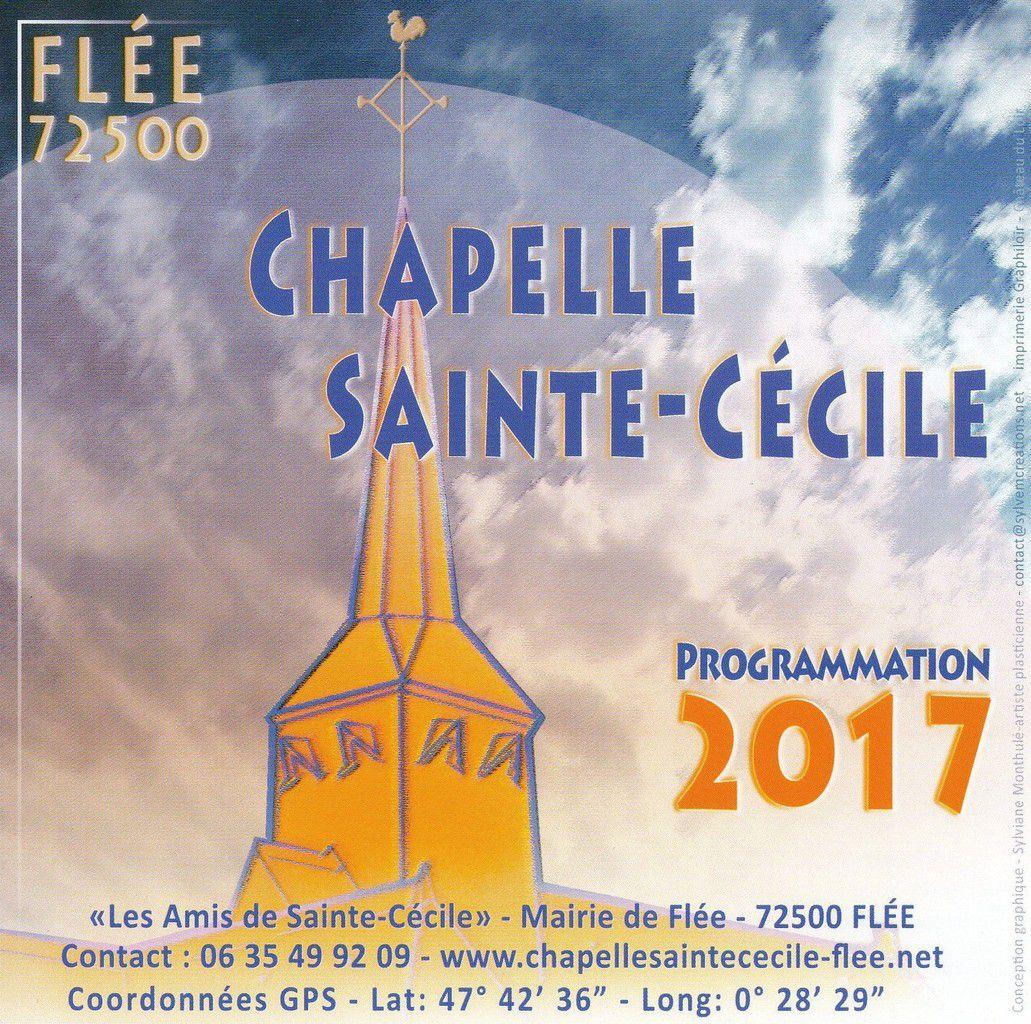 Chapelle Sainte-Cécile : programmation 2017