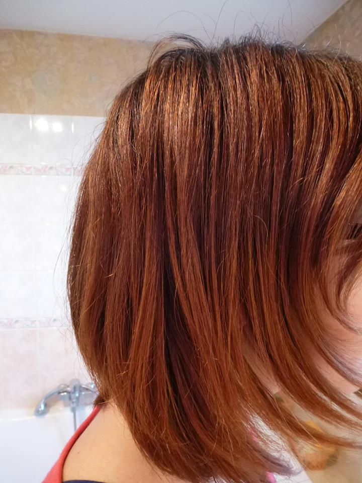 Couleur cheveux marron cannelle