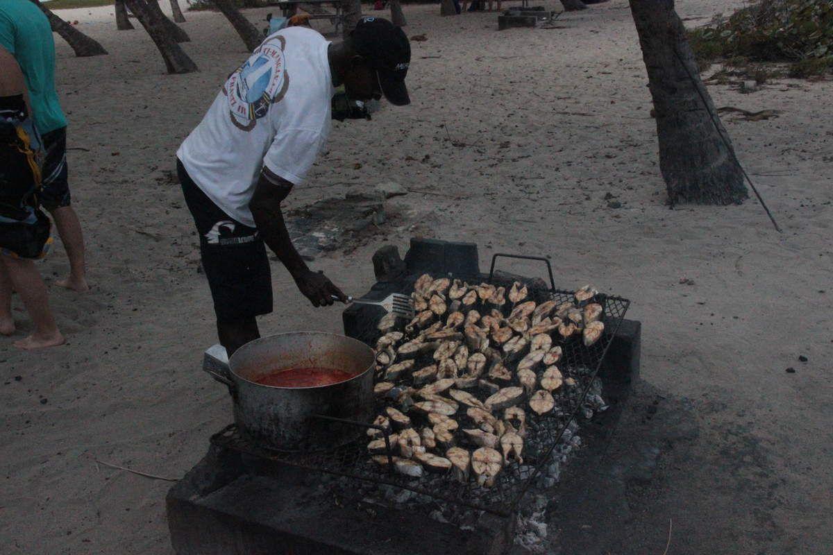 La préparation du repas