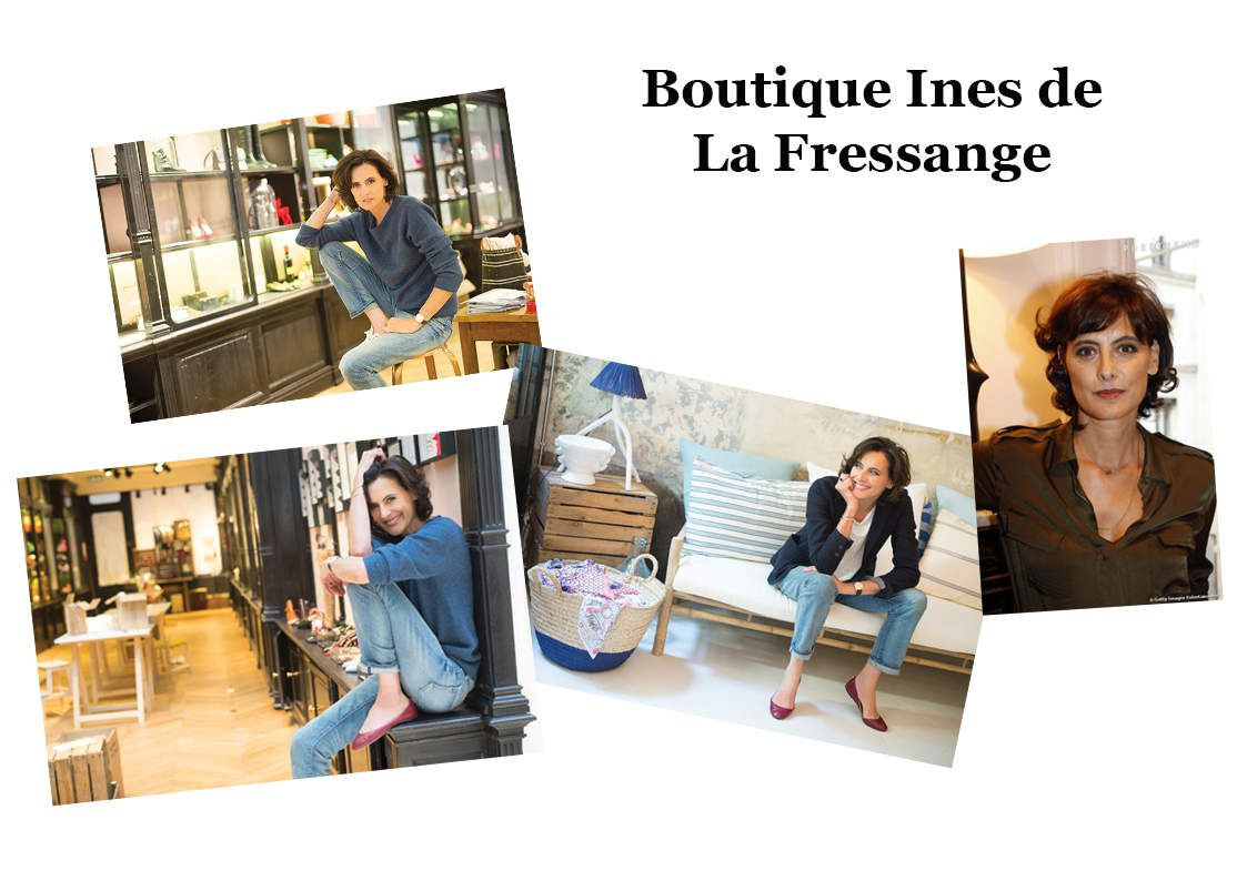 boutique ines de la fressange la mode se d mode le style. Black Bedroom Furniture Sets. Home Design Ideas