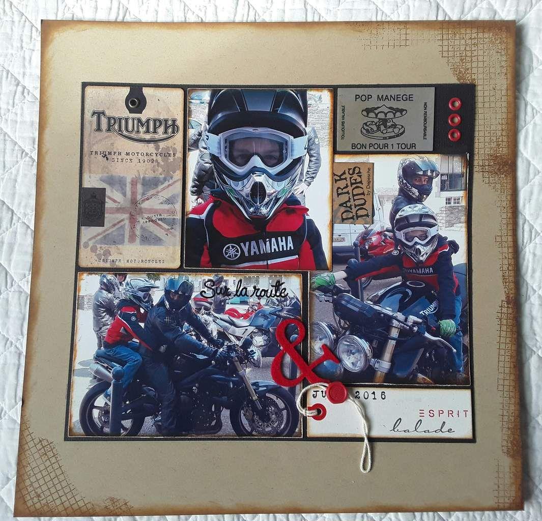 Juin 2016, première sortie moto de Ethan avec Thierry & la bande.