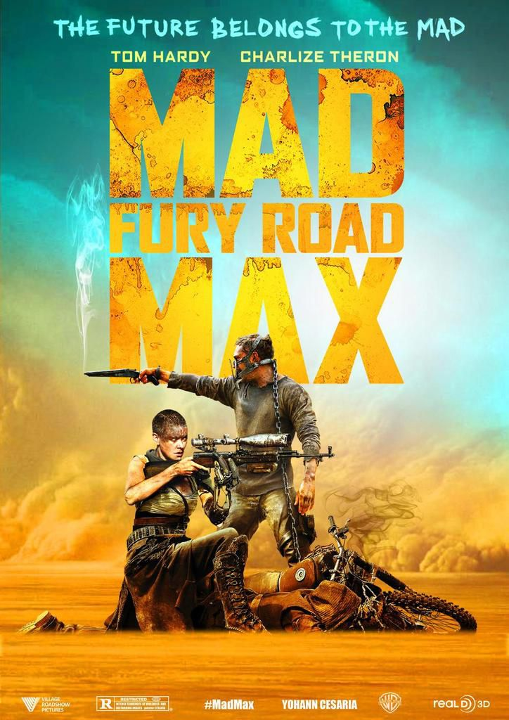 Poster 3 Mad Max Fury Road - Yohann CESARIA