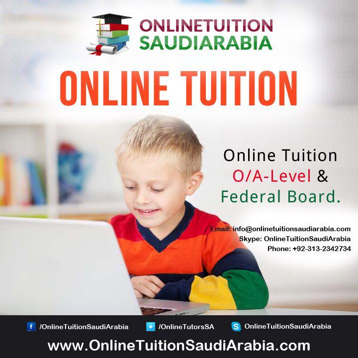 Online O/A Level Tutors in Saudi Arabia