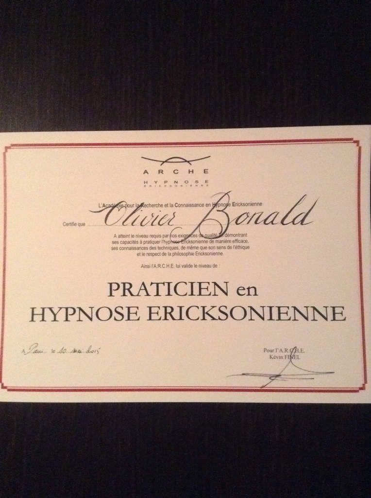 Praticien certifié à l'Arche :