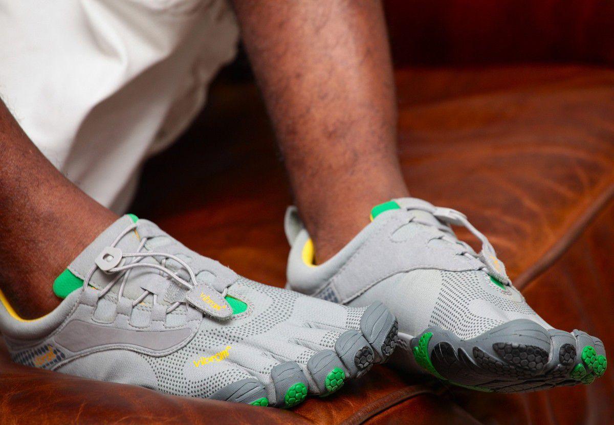 Des chaussures avec des orteils: les Vibram Fivefingers