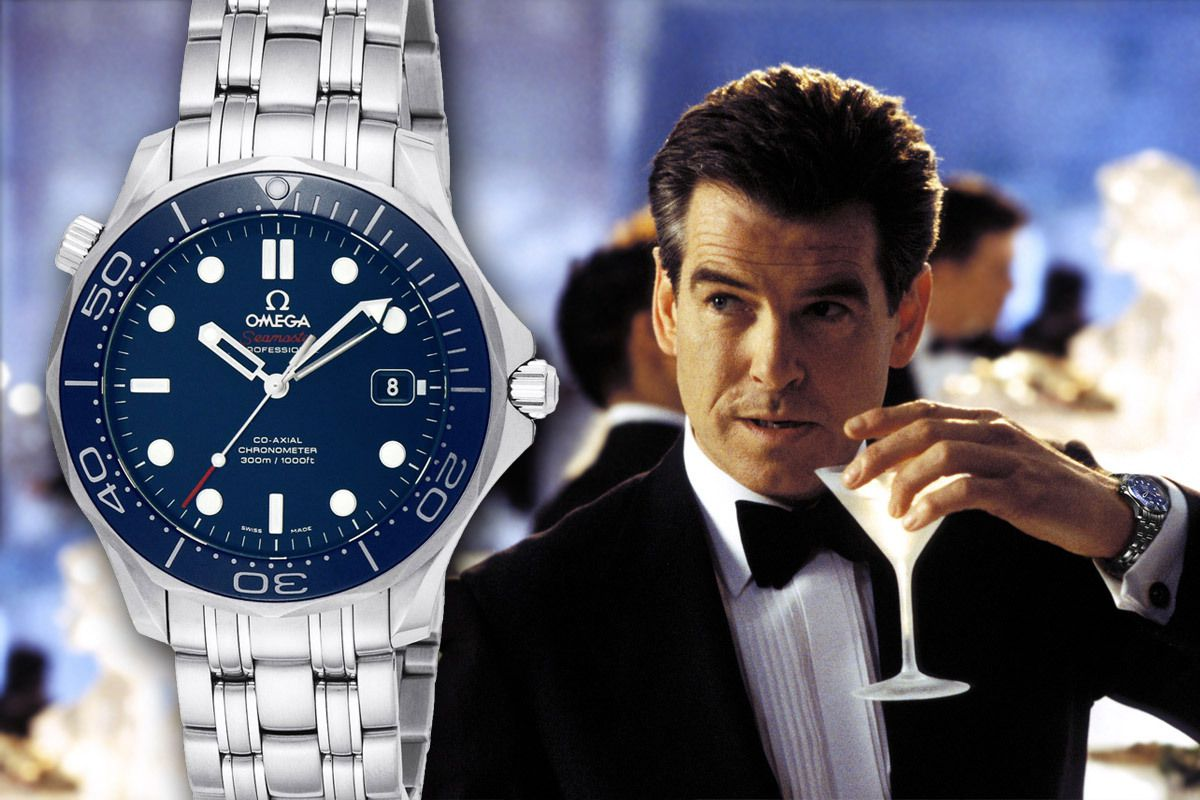 les montres de james bond lyon au masculin. Black Bedroom Furniture Sets. Home Design Ideas