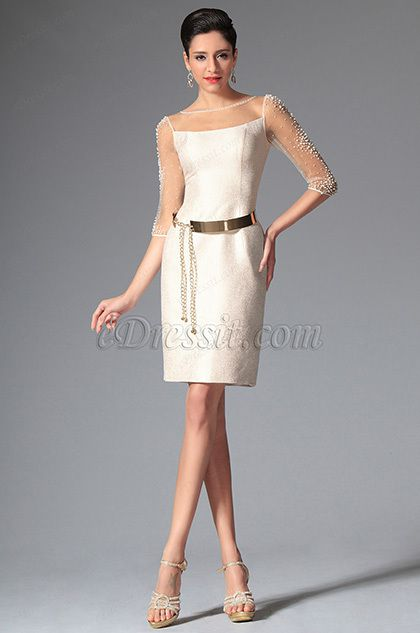 eDressit 2014 New Simple Sleeves Cocktail Dress Day Dress