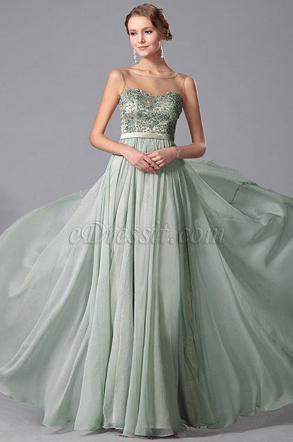 Stunning Sleeveless Beaded Embroidery Prom Gown Evening Dress