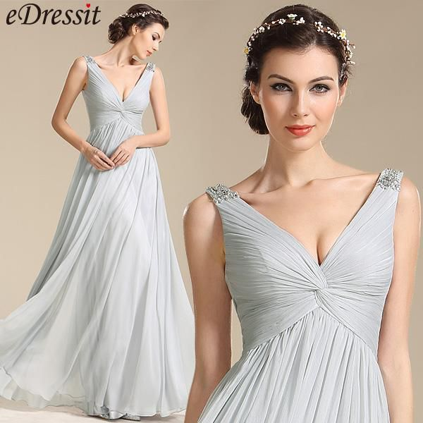 fashion v neck dress for party