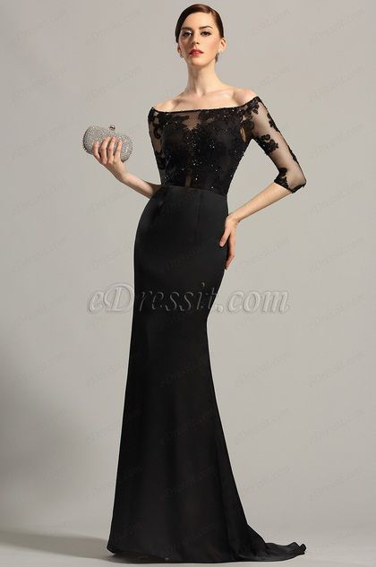 eDressit Elegant Off Shoulder Evening Dress Formal Dress (02152800)