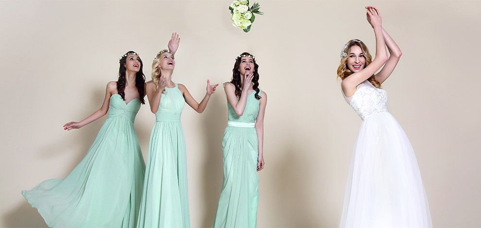 mint bridemsmaid dresses for wedding