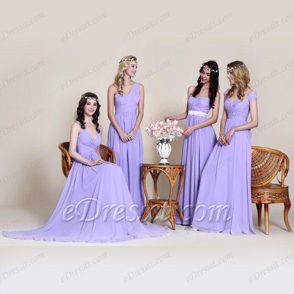 eDressit Purple Series Discount Elegant Bridesmaid Dresses