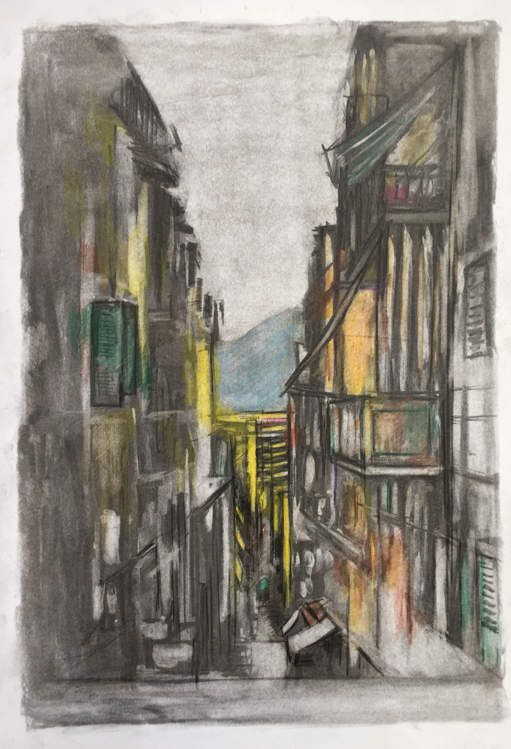 DESSINS ... NAPLES septembre 2018