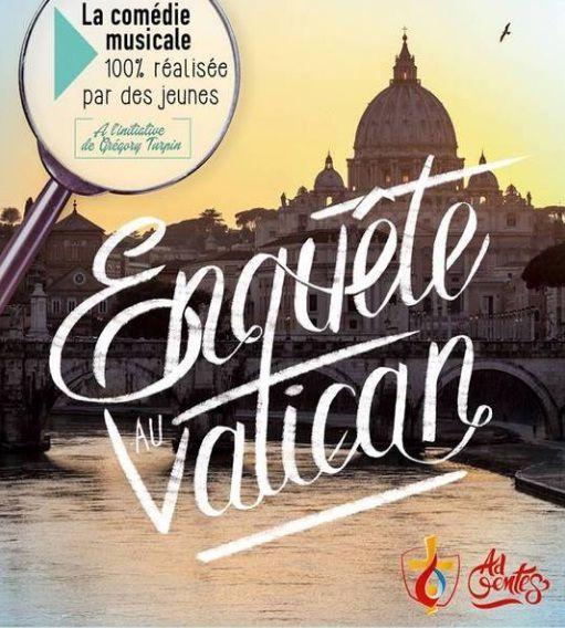 Ce week-end : Enquête au Vatican !