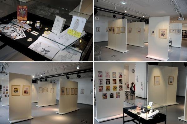 Exposition à la Médiathèque de Roubaix (07-28 mai)
