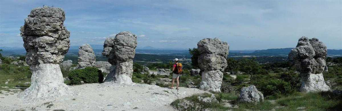 l'armée de gnomes de calcaire
