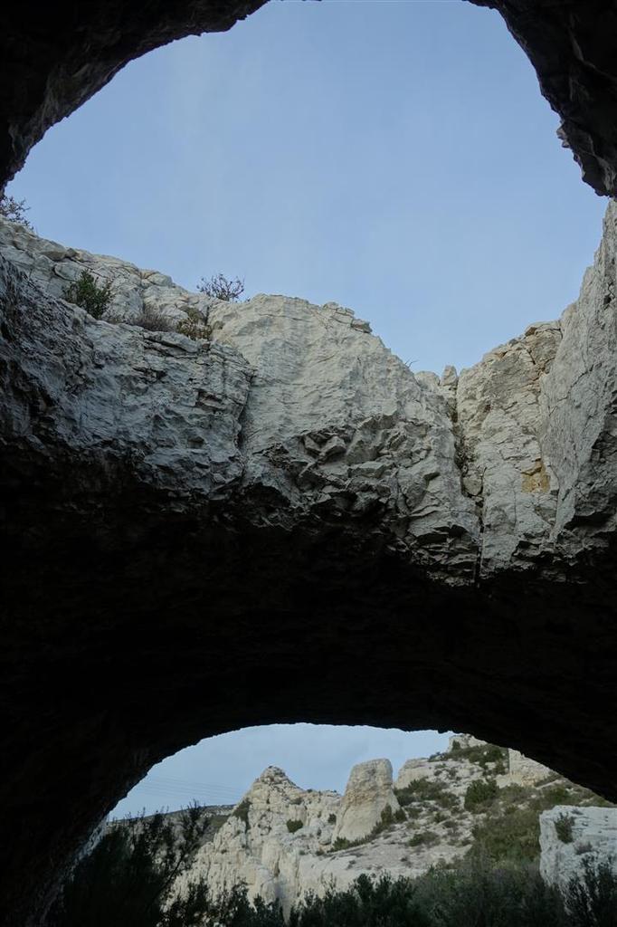 les 3 arches au-dessus du vallon de Colombières
