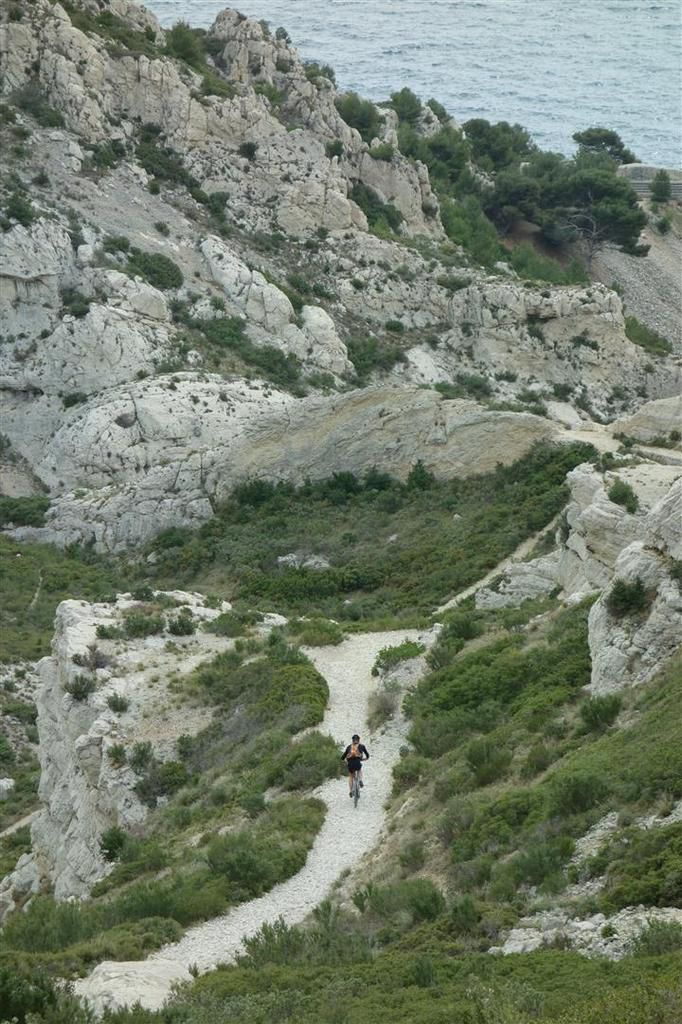 boucle vers le fort de Niolon haut