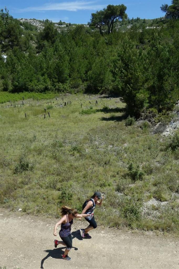 dans le vallon de l'Erevine puis la calanque éponyme, toujours des couleurs magnifiques