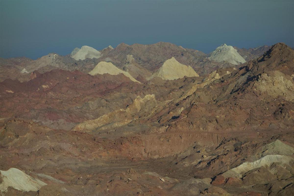 sur Hormuz et sa géologie exceptionnelle