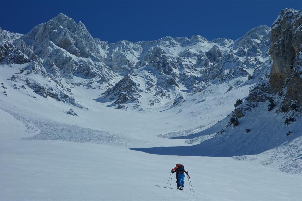 ski de couloirs en Turquie