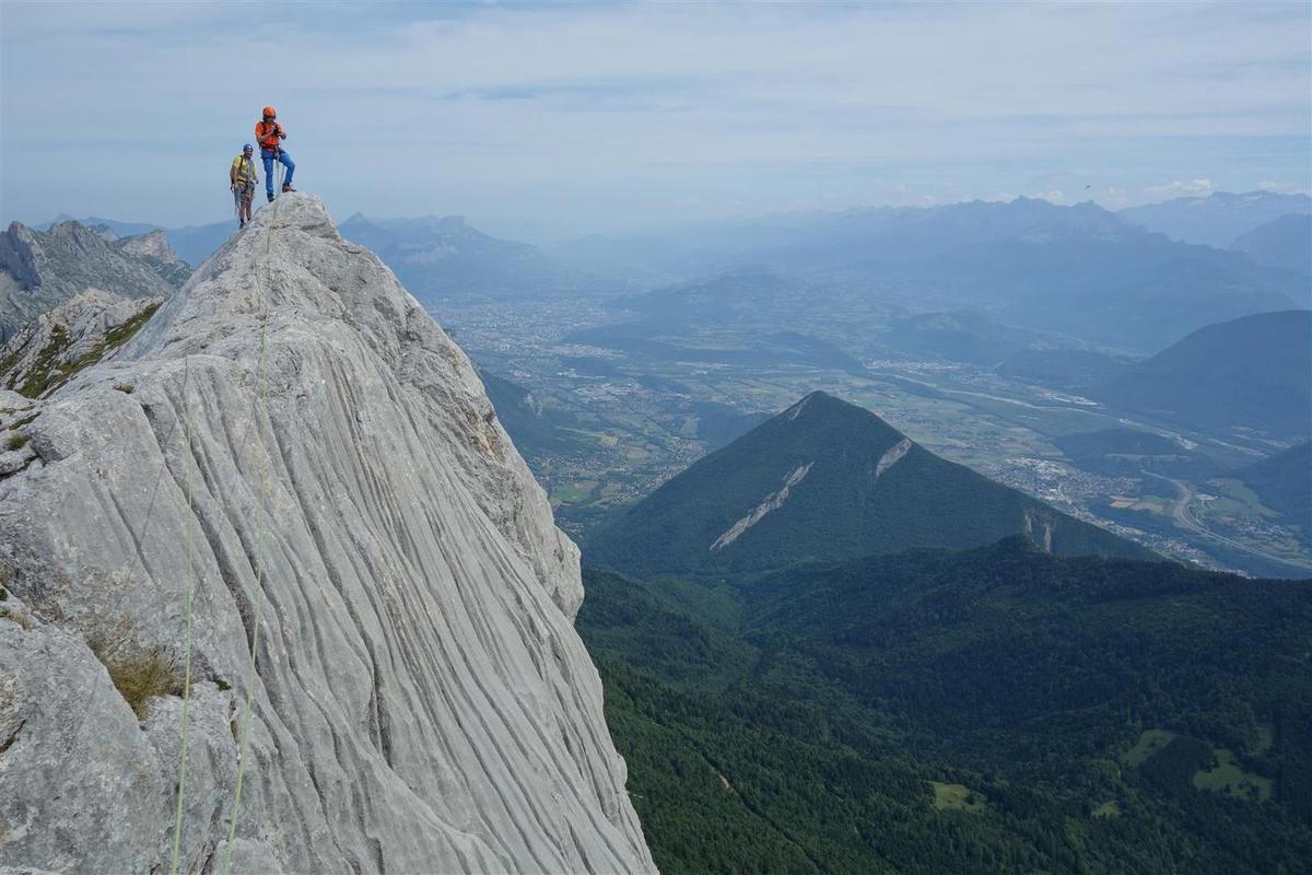 au sommet du Gerbierd