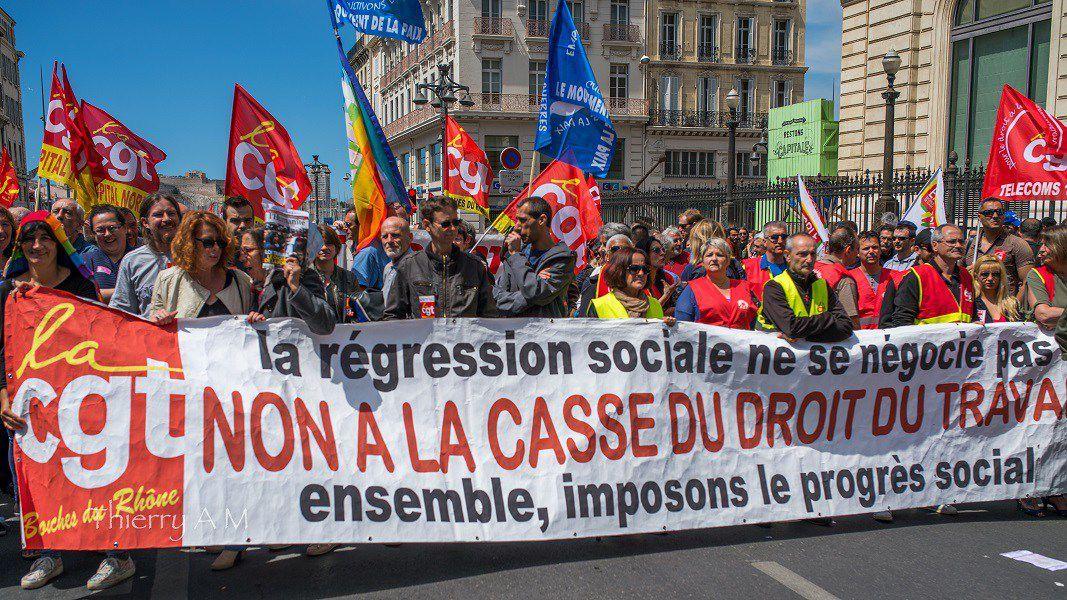 Manifestation du 26 mai: les convergences de lutte montent en puissance pour gagner le retrait du projet El-Khomri!